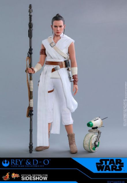 *Pre Order* Hot Toys 1:6 Star Wars The Rise of Skywalker Rey & D-O